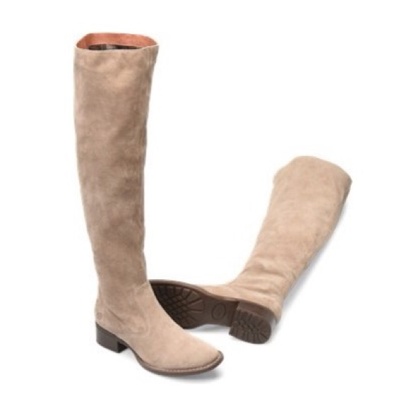 058e479984 Born Shoes | 230 Cricket Suede Over The Knee Boots 8 | Poshmark